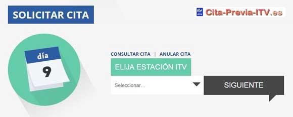 Programación ITV en Extremadura