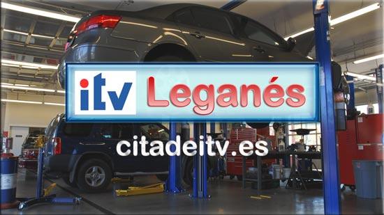 ITV Leganés - Información de callejero, dirección, teléfono, precios y horarios, con programación online y telefónica